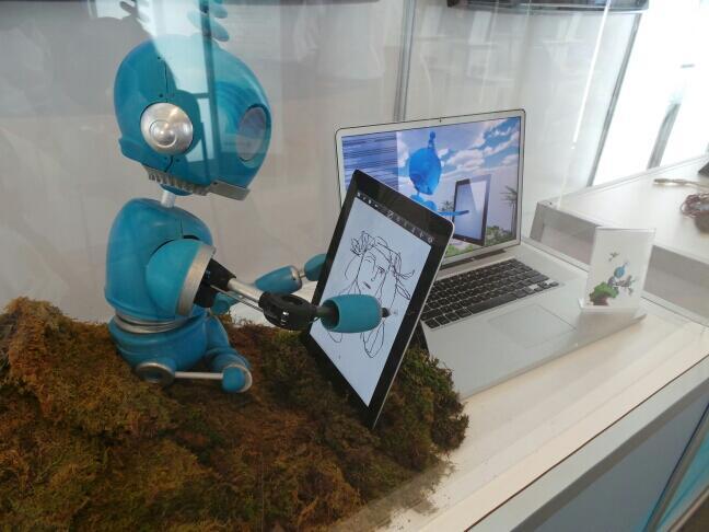 Robot-drawing