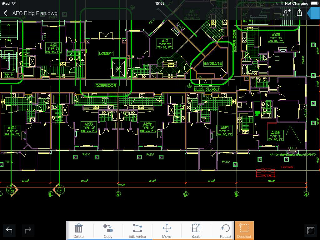 Autodesk 360 iPad app