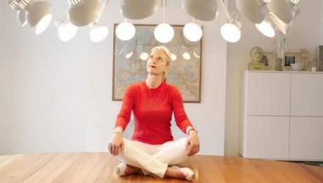 ANNE LISE KJAER in her studio photographed by HELENE SANDBERG