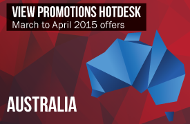 Promotions Hotdesk - Australia