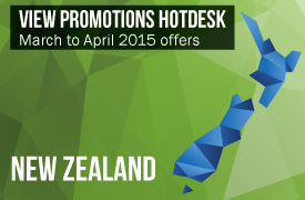 Promotions Hotdesk - New Zealand